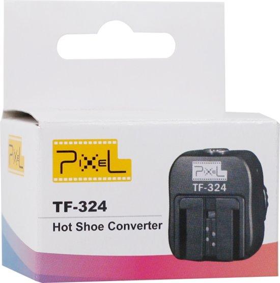 Pixel Hotshoe Adapter TF-324 voor Sony Camera Flitsers