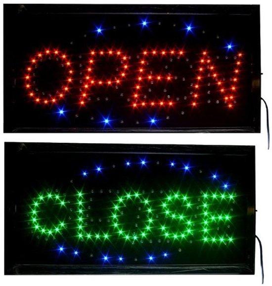 Onwijs bol.com   Led licht bord ledbord OPEN / CLOSE PP-37