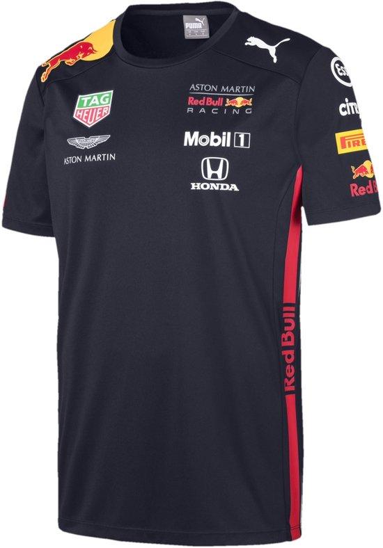 PUMA Red Bull Racing Team Tee Sportshirt Heren - Night Sky - Maat L
