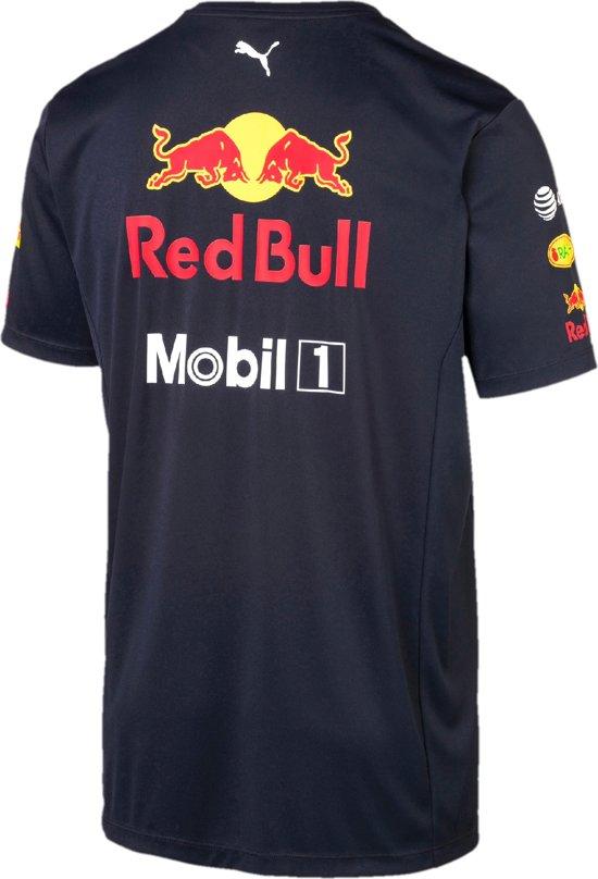 PUMA Red Bull Racing Team Tee Sportshirt Heren - Night Sky
