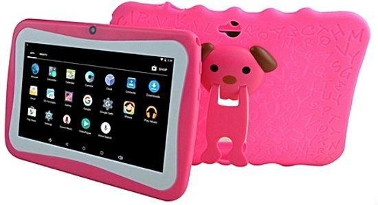Kinder Tablet Roze.Oem Kinder Tablet Connect Telekids 7 Inch Met Siliconen Beschermhoes Roze