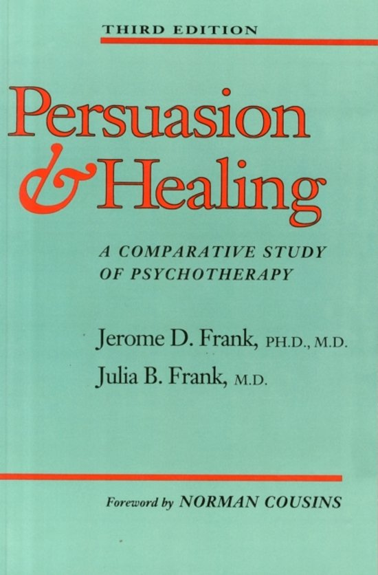 Persuasion and Healing
