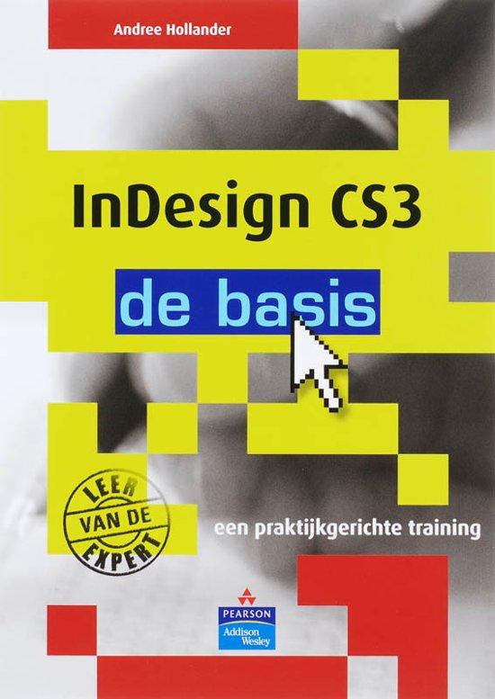 Cover van het boek 'InDesign CS3'