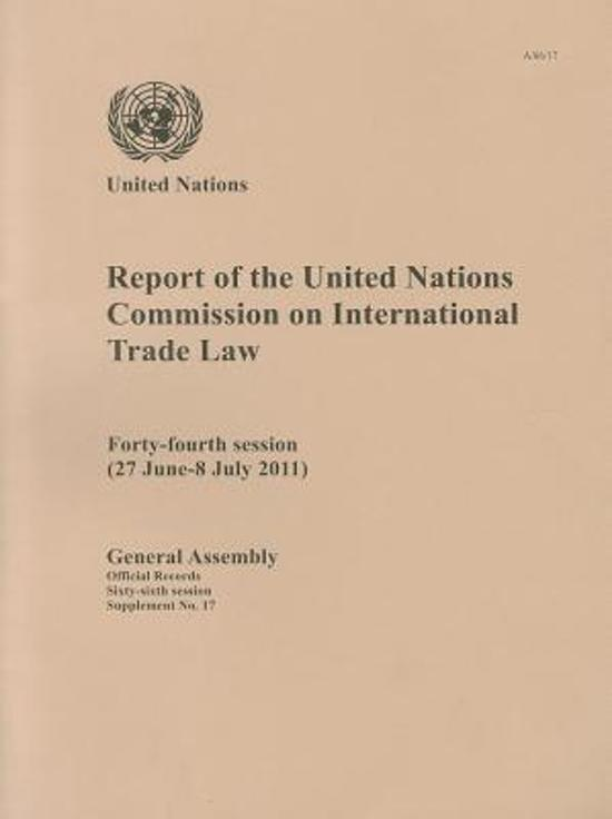 united nations commission on international trade How can the answer be improved.