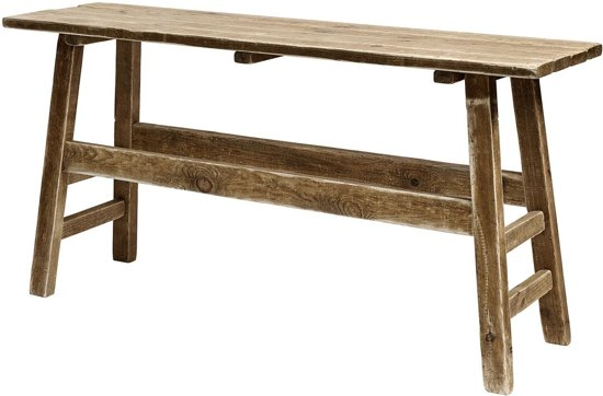 Sidetable Bruin Hout.Bol Com Sidetable Nature Bruin Hout 75x40x150