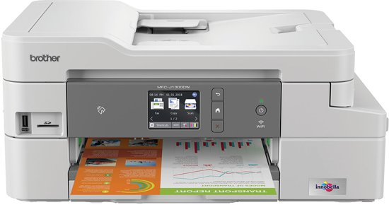 Brother MFC-J1300DW  - All-In-Box Inktjet Printer
