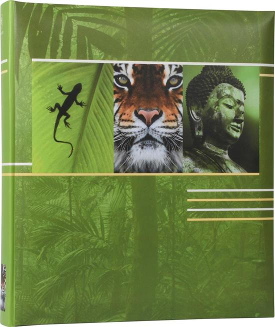Henzo EARTH - Fotoalbum - 29 x 33 cm - Groen - 80 Pagina's