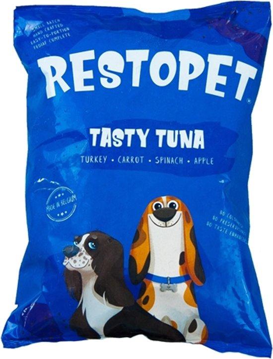 RESTOPET Tasty Tuna - 8KG - Natuurijke honden voeding - vers vlees