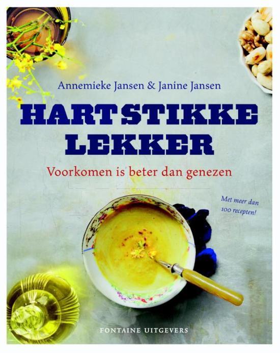 Boek cover Hartstikke lekker van Annemieke Jansen (Hardcover)