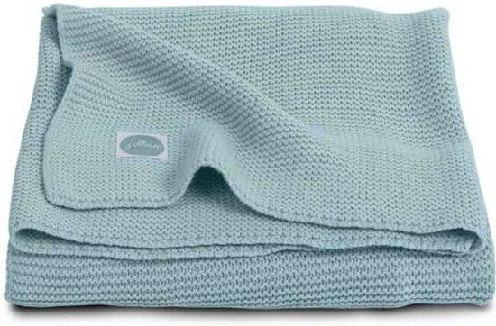 Jollein Basic knit Deken 100x150cm stone grey