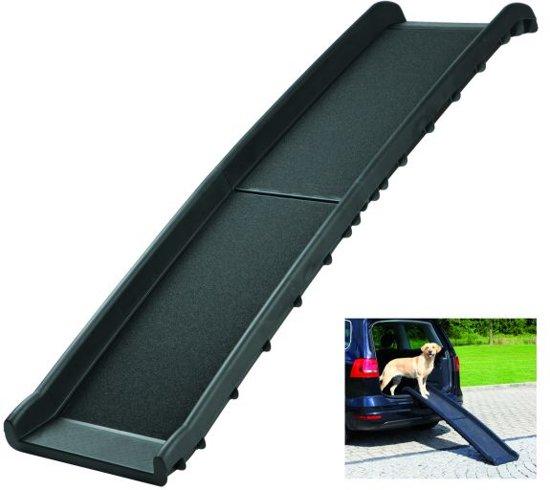 Trixie Petwalk Loopplank - Opvouwbaar - Tot 90 kg - Zwart - 40 x 156 cm
