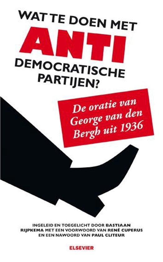 Boek cover Elseviers Politieke Bibliotheek - Wat te doen met antidemocratische partijen? van Bastiaan Rijpkema (Paperback)