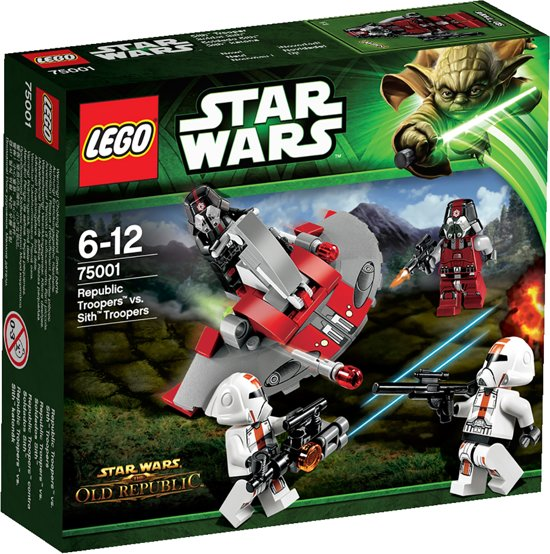 LEGO Star Wars Republic Troopers vs. Sith Troopers - 75001