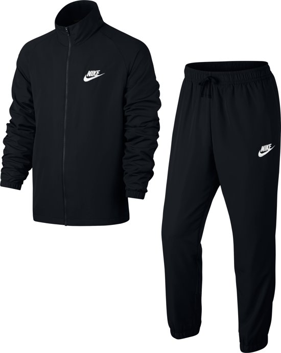 Nike Trainingspak white Ce Track M Suit HerenBlack Nsw Basic Wvn cj5RAq34L