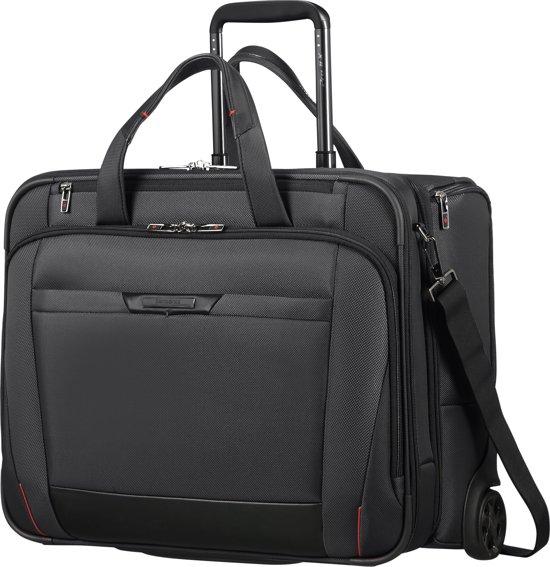 af068139a17 bol.com | Samsonite Pro-DLX5 - Laptop trolley / 17.3 inch / Zwart