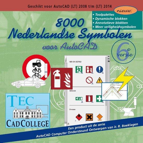 8000 Nederlandse Symbolen voor AutoCAD