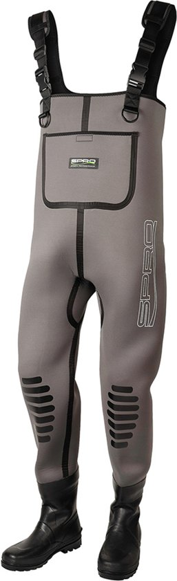 Spro Neoprene 5mm Chest Wader Rubber Boots - Maat 45