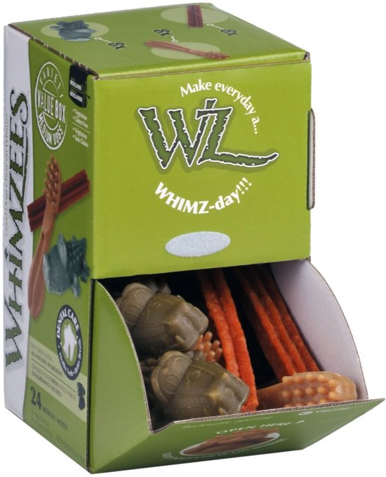 Whimzees Variety Box - M - Hond 12-18 Kg