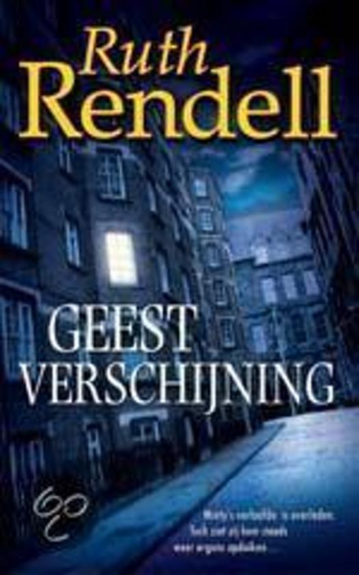 Geestverschijning - Ruth Rendell pdf epub
