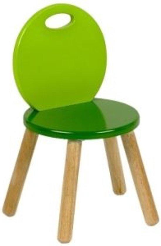 Beste bol.com   Pintoy Tweekleurige Peuterstoel - Groen RO-79