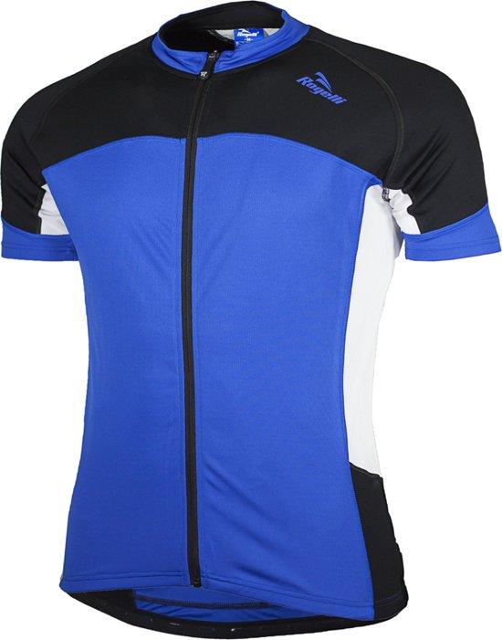 Rogelli Recco Fietshirt - Heren - Korte mouwen - Kobalt/Zwart/Wit