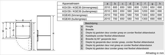 Bosch KGE49VI4A