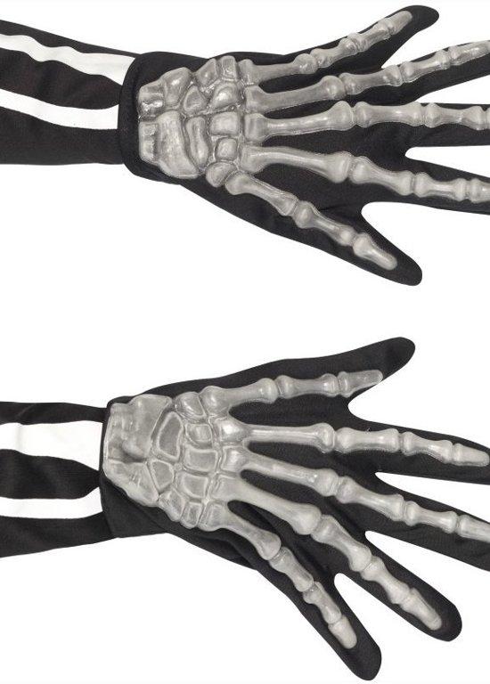 Halloween Artikelen.Skelet Handschoenen Voor Volwassenen Magere Hein Handen Halloween Artikelen