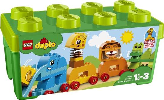 speciale promotie beste groothandel best cool LEGO DUPLO Mijn Eerste Dier Opbergdoos - 10863