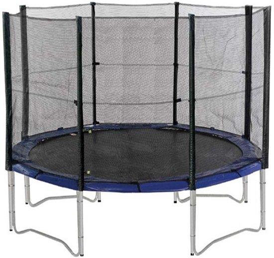 universeel veiligheidsnet voor trampolines 305 cm met 4 poten rainbow trampolines. Black Bedroom Furniture Sets. Home Design Ideas