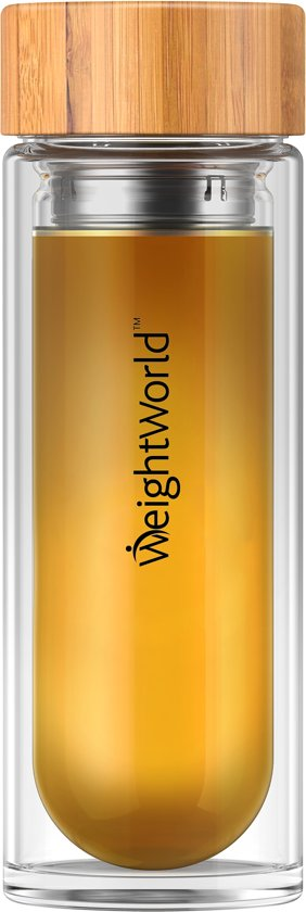 Tea Infuser Bottle - Örtte - Theefles met Filter - Gezondere Levensstijl