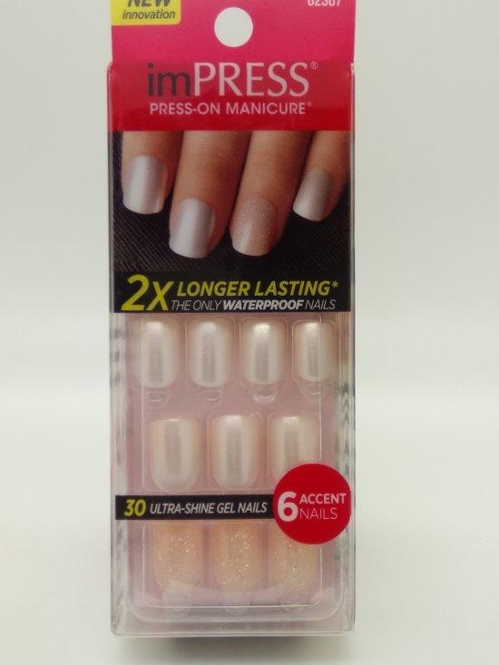 bol.com | KISS Impress nails press-on manicure 30 ultra shine gel ...