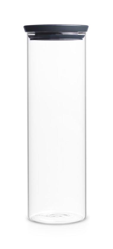 Brabantia Stapelbare Voorraadbus - 1,9 l - Glas Valentinaa
