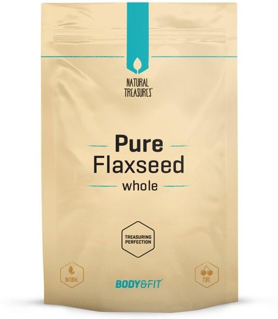 Body & Fit Superfoods Pure Lijnzaad Heel - 500 gram