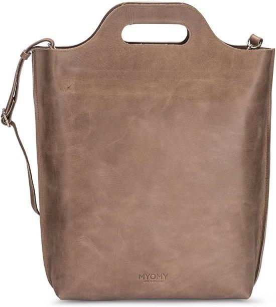 Shopper handtassen carry bruin handtassen Shopper Myomy handtassen carry Myomy bruin Myomy zwRqASxfq