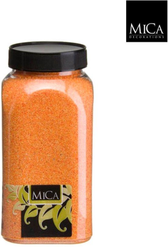 3 stuks Zand oranje fles 1 kilogram
