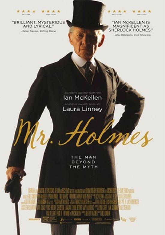 DVD cover van Mr. Holmes