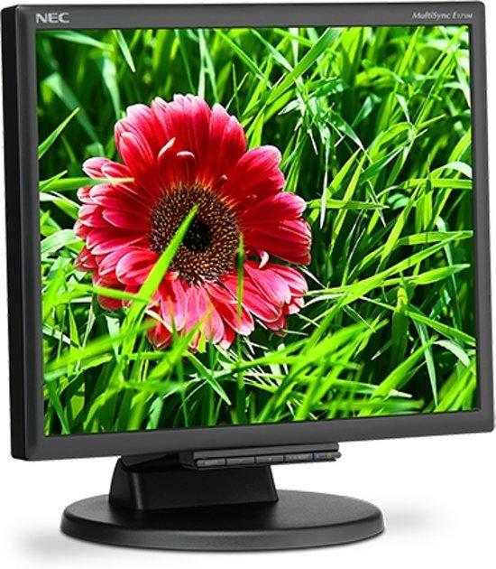NEC MultiSync E171M 17'' LED Flat Zwart computer monitor