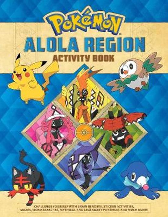 Pokemon Alola Region Activity Book