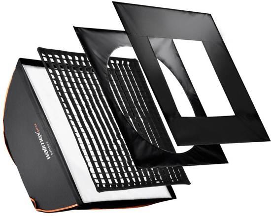 walimex pro Softbox Vierkant PLUS OL 90x90cm   Diverse merken in Marche-lez-Ecaussinnes