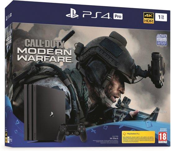 Afbeelding van PlayStation 4 Pro 1TB + Call of Duty: Modern Warfare - PS4