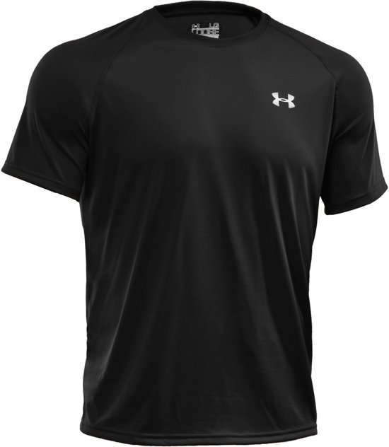 Under Armour Tech SS Tee Sportshirt - Heren - Maat M - Zwart