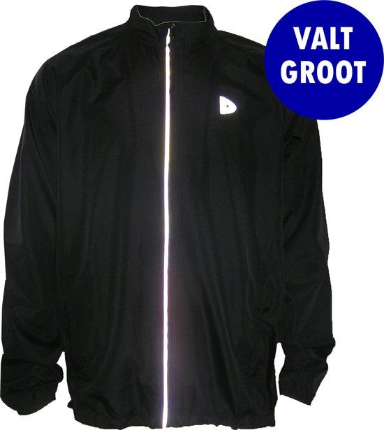 Donnay Hardloopjas - Running Jacket - Heren - Maat XL - Zwart