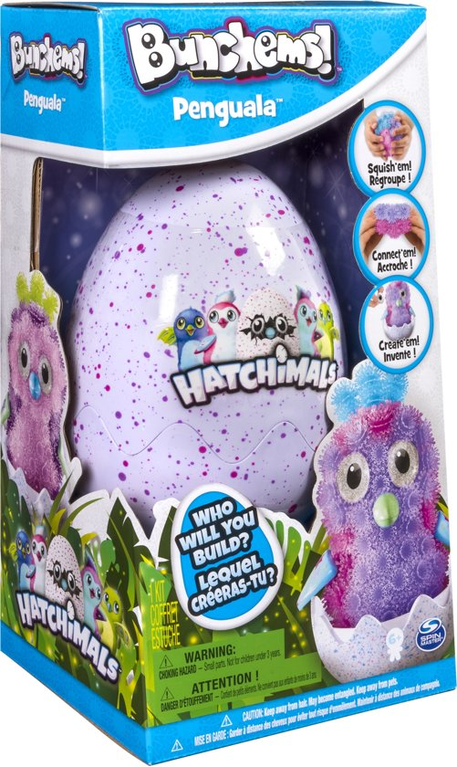 Afbeelding van Bunchems Hatchimals Theme Kit - Knutselpakket speelgoed