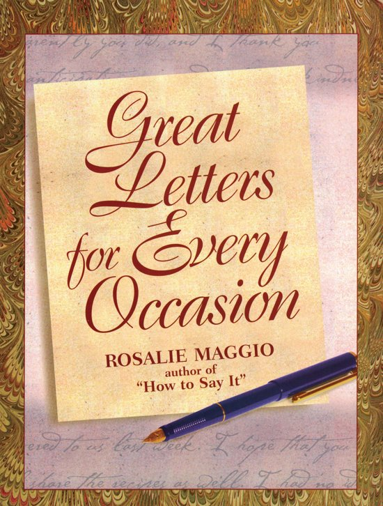 Bol best letters for all occasions 9780735200814 rosalie best letters for all occasions expocarfo Image collections