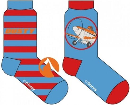 Disney Planes sokken 2-pack blauw/rood maat 31/34