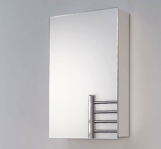 smalle spiegelkast zonder verlichting voor toilet of badkamer 40x60 cm