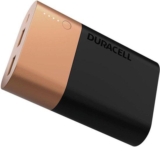 Afbeelding van Duracell Powerbank - 10050 mAh - Zwart/Goud