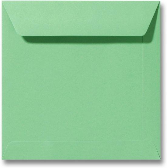 Envelop 22 x 22 Weidegroen, 100 stuks