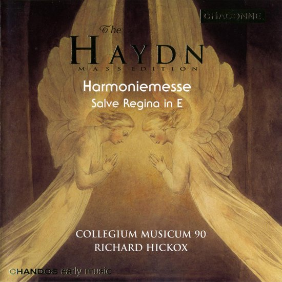 Haydn: Harmoniemesse, Salve Regina / Hickox, Argenta, et al
