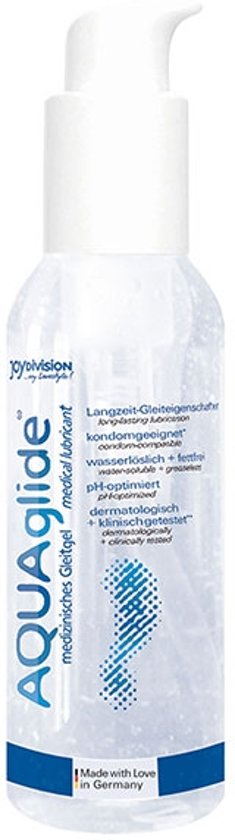AQUAglide Waterbasis Glijmiddel - 125ml